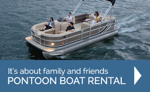 Pontoon Boat Rental for the whole family in Kelowna